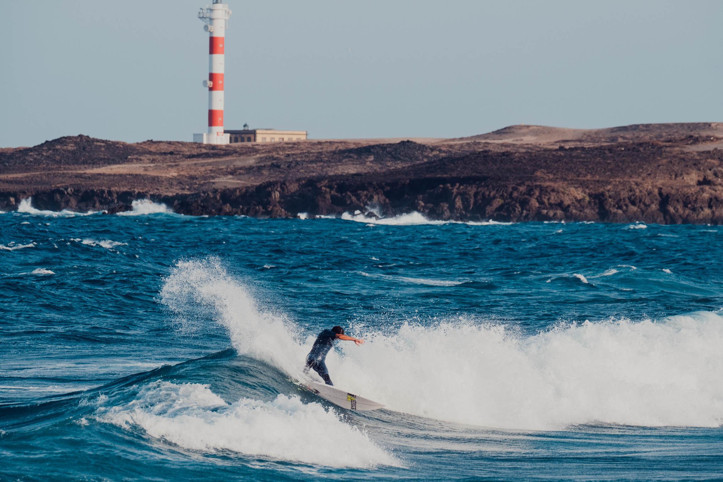 Surf Lesson in El poris