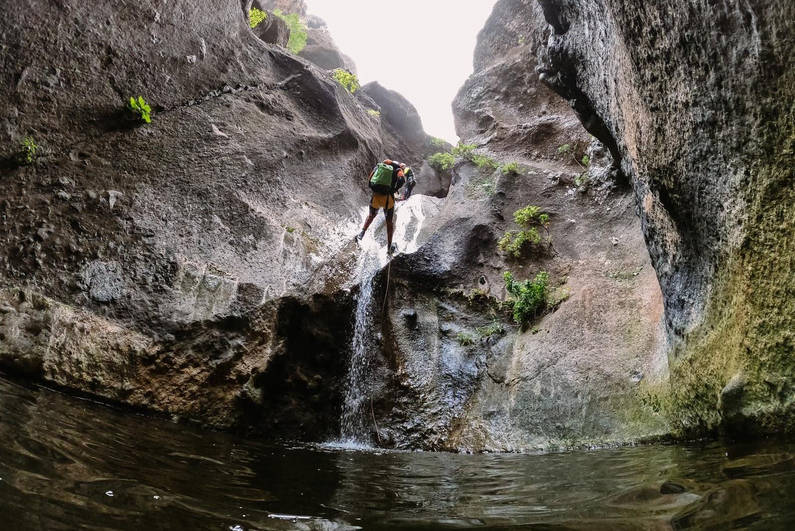 Los Carrizales Wet Canyon