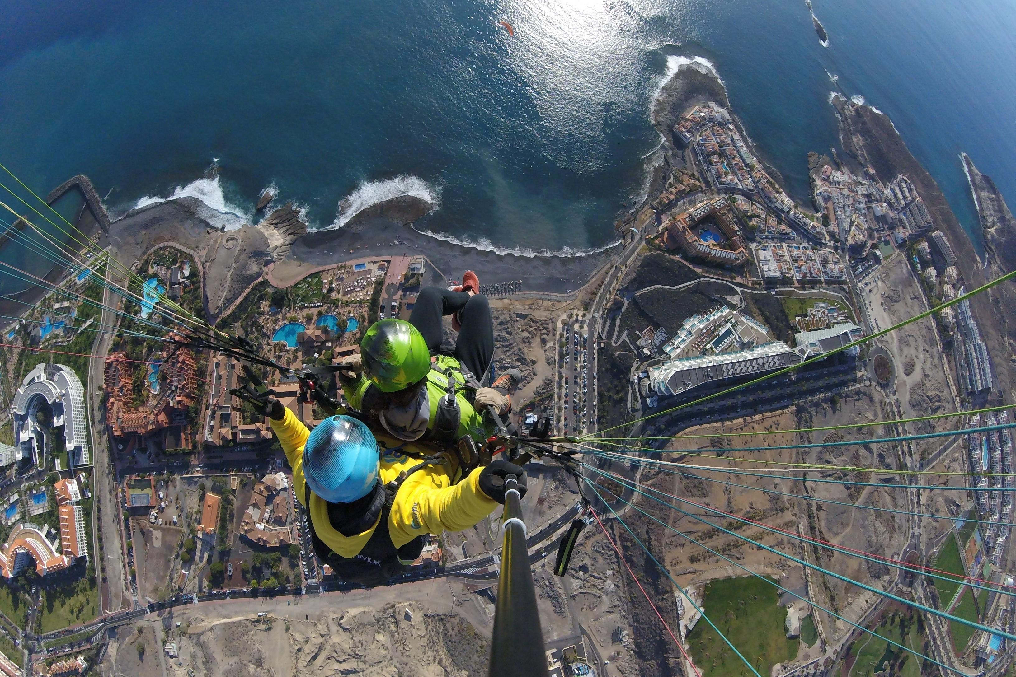 Acrobatic Paragliding Flight