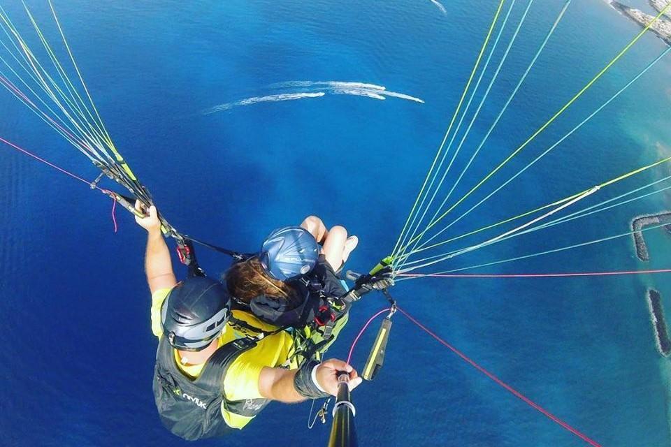 Performance Paragliding Flight