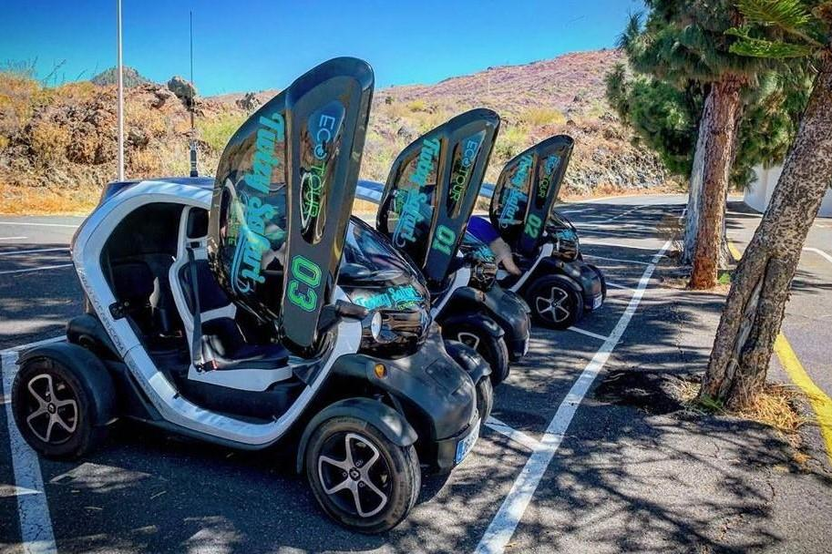 Electric buggy tour