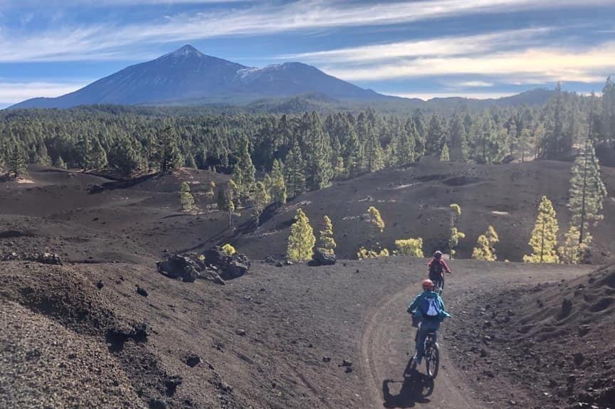 Mountain Bike, e-Bike Tour - Arena Negra