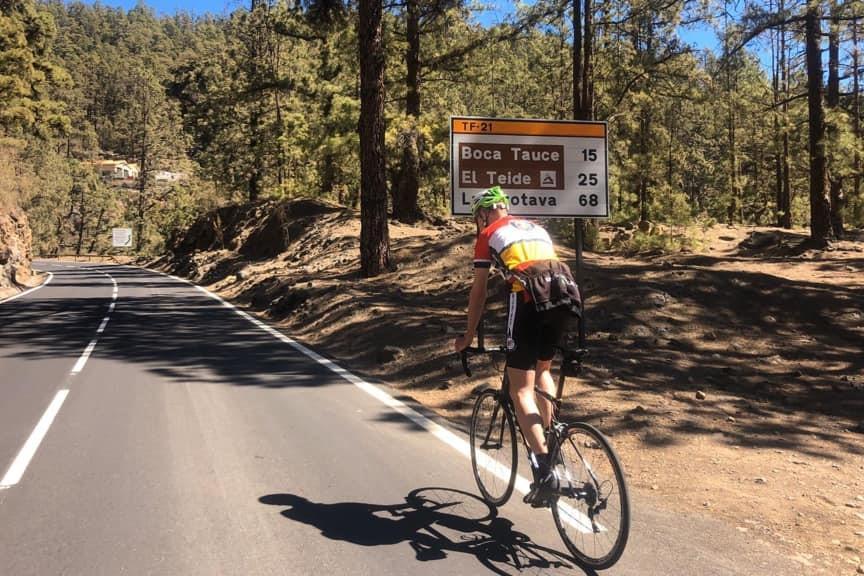 El Teide Road Bike Tour
